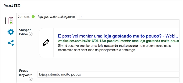 Plugin de SEO para WordPress
