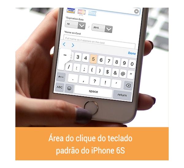 Teclado numérico ajuda na usabilidade em formulários mobile