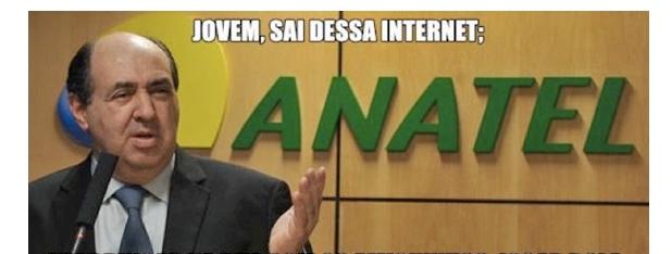 Anatel e a internet limitada