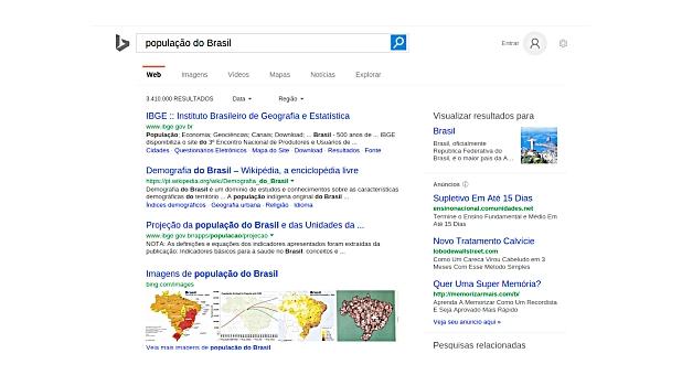 Buscador inteligente Bing