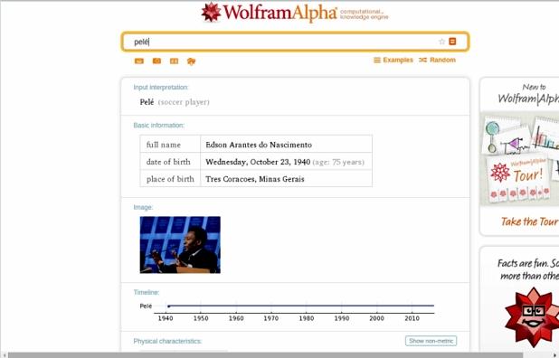 Buscador Wolfram Alpha