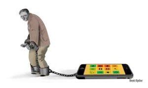 O escravo do smartphne