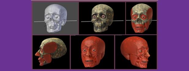 Reconstrução facial forense: a ajuda da impressão 3D
