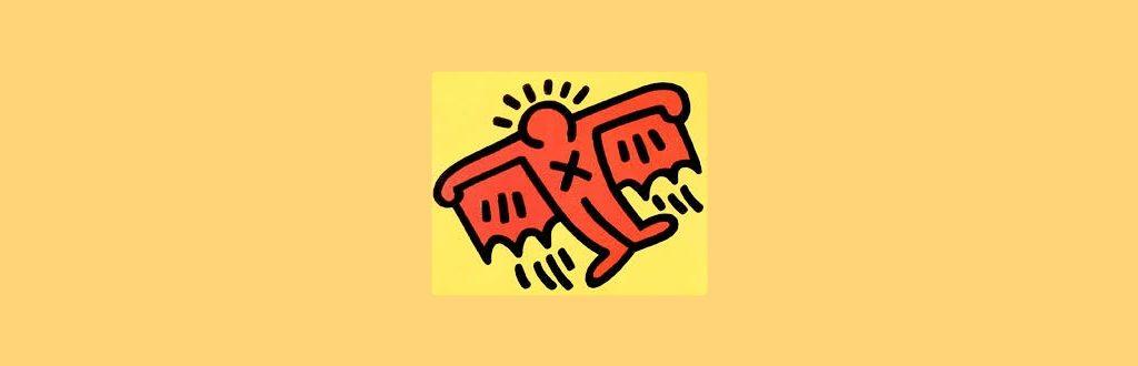 Keith Haring proganda e ingenuidade