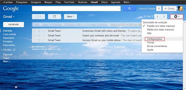 Como criar múltiplas caixas de entrada no Gmail