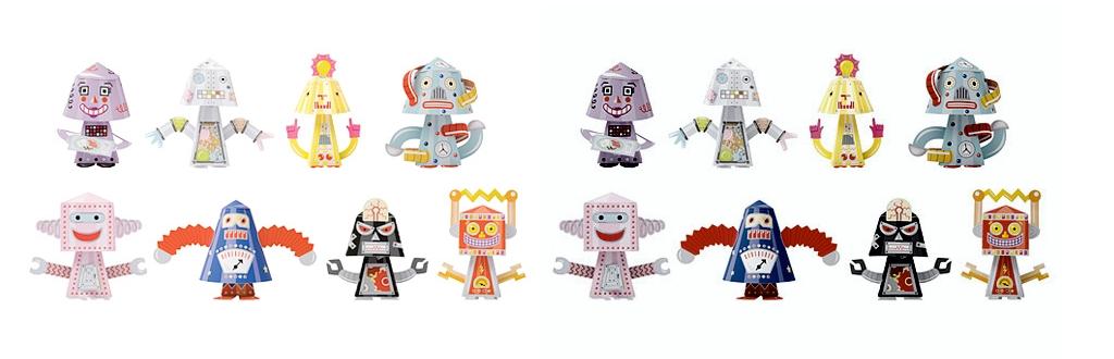Robôs no Instagram