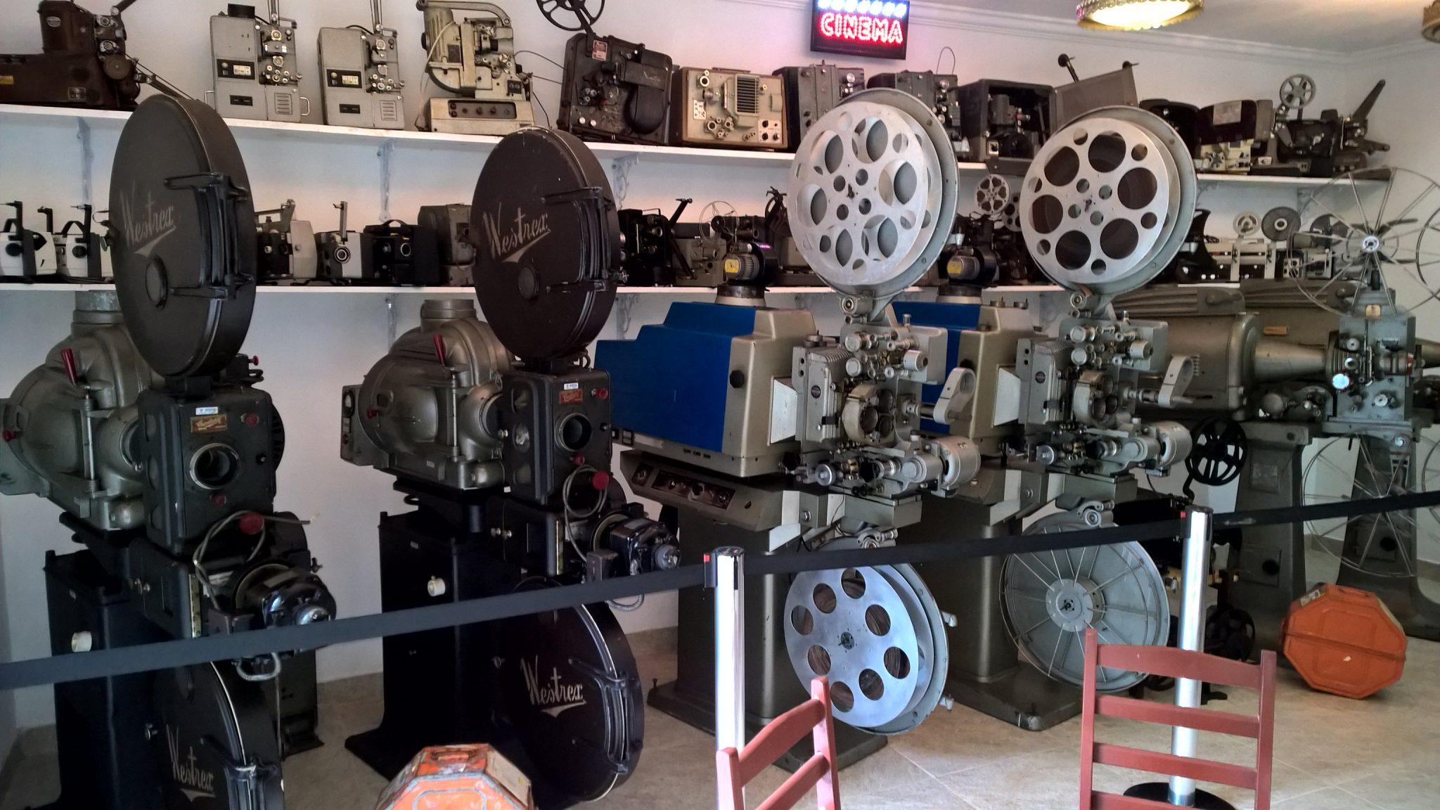 Museu de projetores de cinema