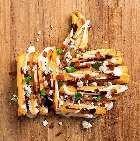 Alimentos no Instagram: Outback