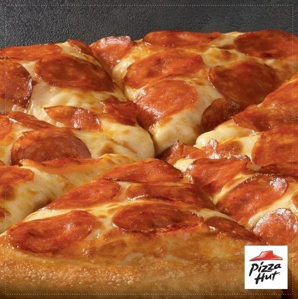 Alimentos no Instagram: Pizza Hut