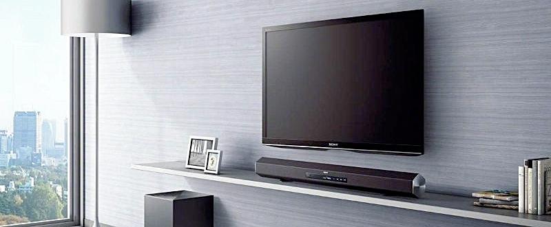 Barra de som para melhorar o som da TV