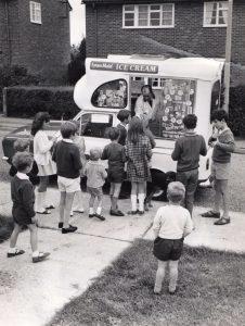 a história do sorvete