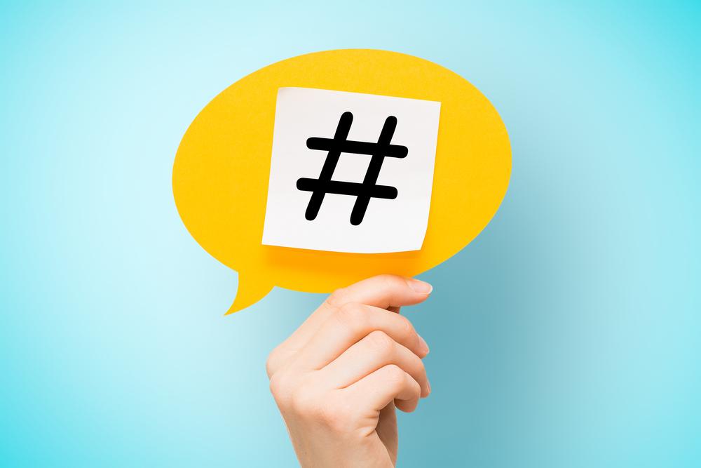 Hashtags para eventos