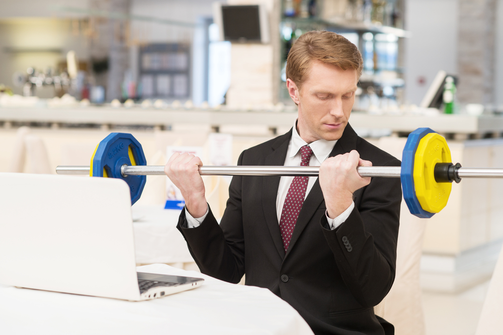 exercícios físicos no trabalho