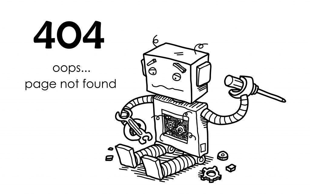 erro no site - erro 404