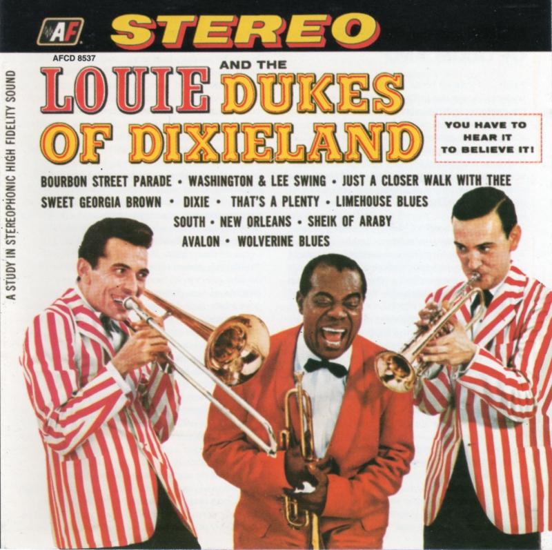 """pequeños detalles"". Gráfica de panorama. Louie-and-the-dukes-of-dixieland"